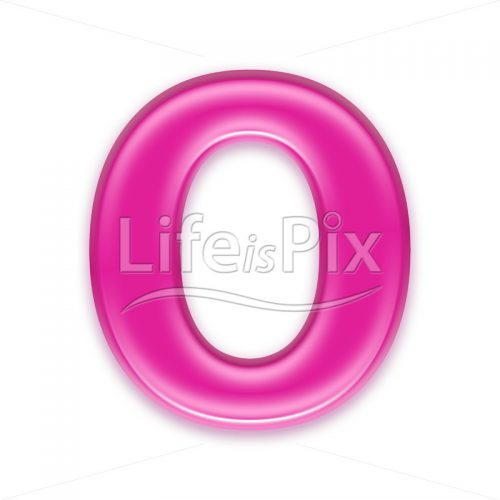 3D jelly letter isolated on white background – O – Royalty free stock photos, illustrations and 3d letters fonts