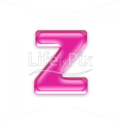 3D jelly lower case letter isolated on white background – z – Royalty free stock photos, illustrations and 3d letters fonts