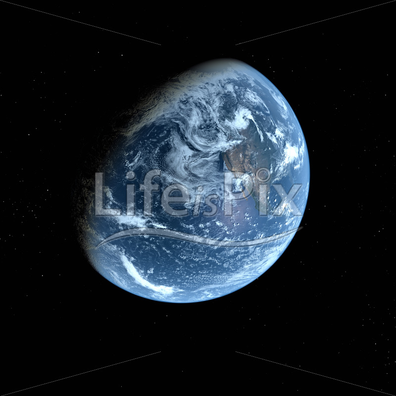 3d Earth Model on black background - Royalty free stock photos, illustrations and 3d letters fonts
