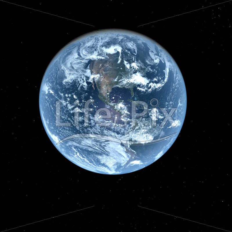 3d Earth in deep space - Royalty free stock photos, illustrations and 3d letters fonts