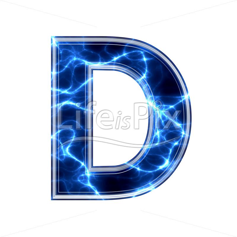 D Letter Font Free