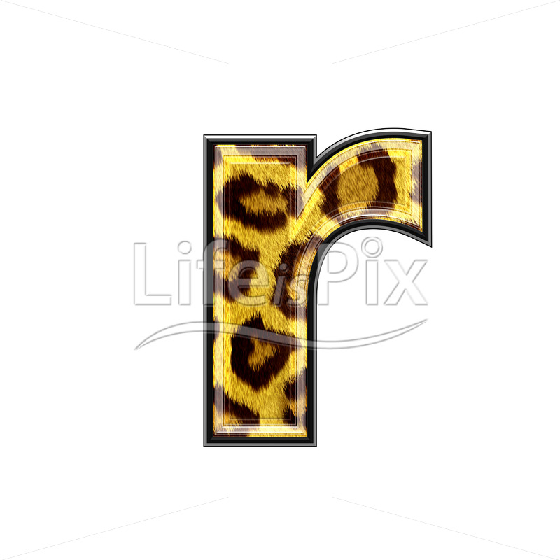 3d small letter with panther skin texture r royalty free stock 3d small letter with panther skin texture r royalty free stock photos illustrations and 3d letters fonts thecheapjerseys Images