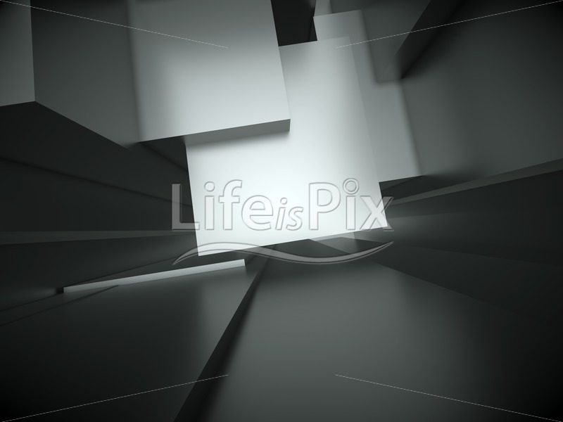 Architectural background – abstract glossy structure - Royalty free stock photos, illustrations and 3d letters fonts