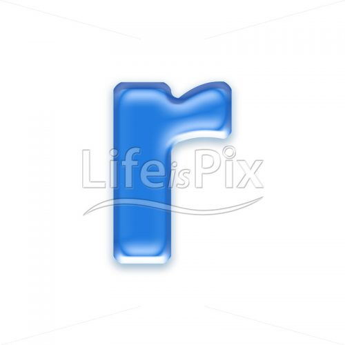 Blue-aqua-letter-on-white-background-Small-r
