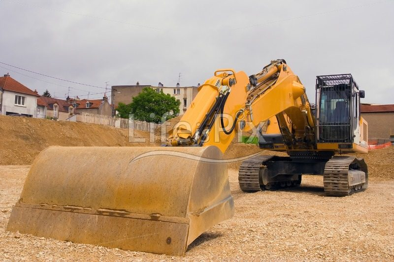 Bulldozer image - Royalty free stock photos, illustrations and 3d letters fonts
