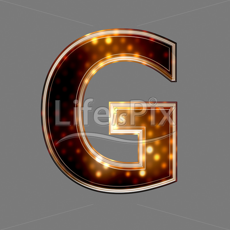 Christmas letter G with glowing light texture – Royalty free stock photos, illustrations and 3d letters fonts