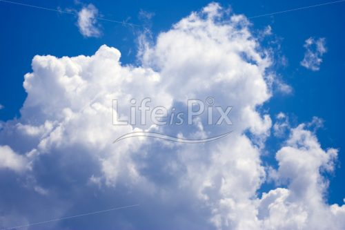 Cloud picture - Royalty free stock photos, illustrations and 3d letters fonts