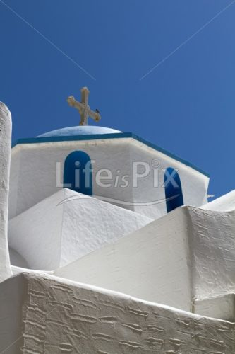 Greek church - Royalty free stock photos, illustrations and 3d letters fonts
