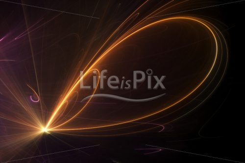 Luminous fractal background - Royalty free stock photos, illustrations and 3d letters fonts