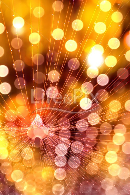 New year lights - Royalty free stock photos, illustrations and 3d letters fonts