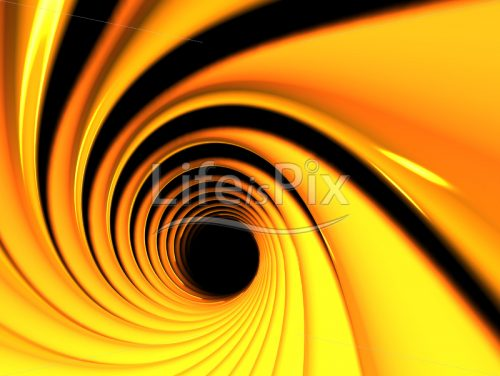 Yellow vortex - Royalty free stock photos, illustrations and 3d letters fonts