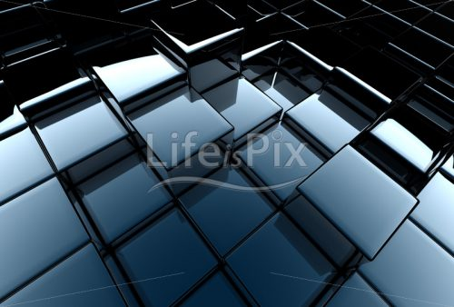 glossy metal cubes - Royalty free stock photos, illustrations and 3d letters fonts