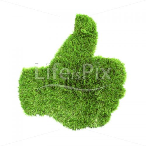 grass up hand sign – Royalty free stock photos, illustrations and 3d letters fonts