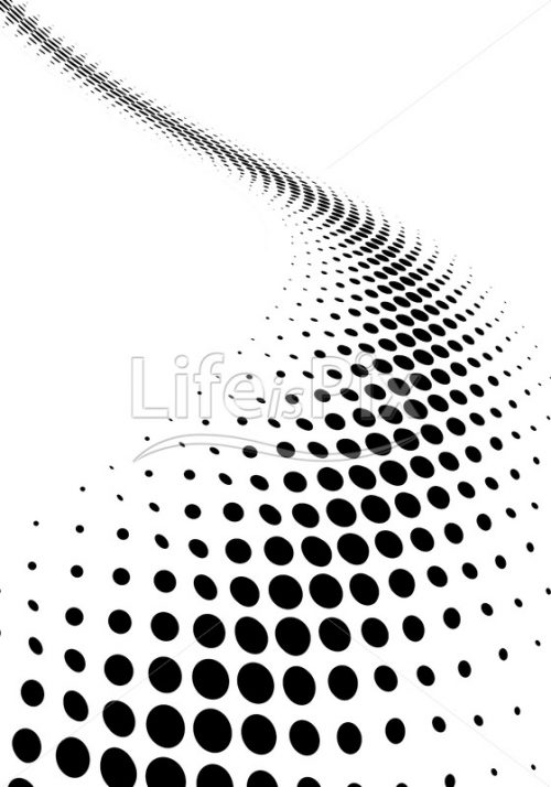halftone dotted background - Royalty free stock photos, illustrations and 3d letters fonts