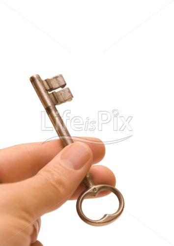 key in hand - Royalty free stock photos, illustrations and 3d letters fonts