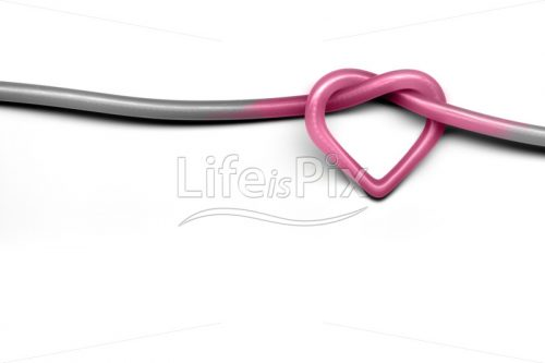 love knot on white background - Royalty free stock photos, illustrations and 3d letters fonts
