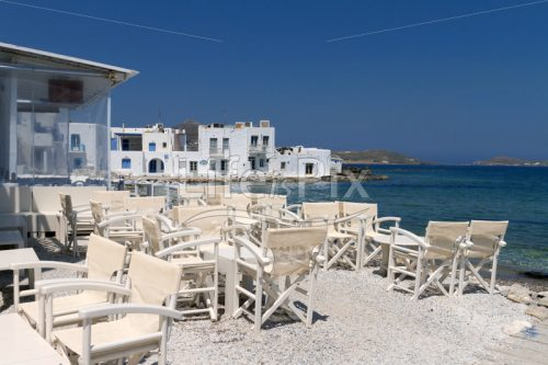 restaurant taverns on Paros island - Royalty free stock photos, illustrations and 3d letters fonts