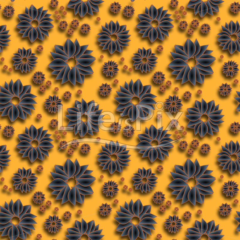 seamless decorative floral texture - Royalty free stock photos, illustrations and 3d letters fonts