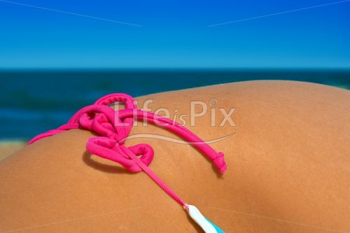 woman hip on the beach – Royalty free stock photos, illustrations and 3d letters fonts