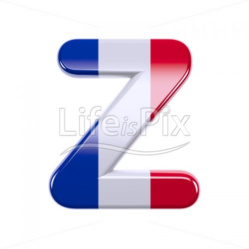 France font Z – Capital 3d character – Royalty free stock photos, illustrations and 3d letters fonts