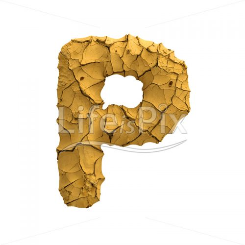 clay letter P – Capital 3d letter – Royalty free stock photos, illustrations and 3d letters fonts