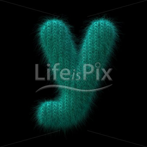 knit letter Y – Lowercase 3d font – Royalty free stock photos, illustrations and 3d letters fonts
