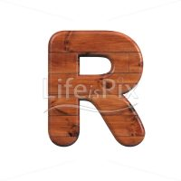 wood letter R – Capital 3d character – Royalty free stock photos, illustrations and 3d letters fonts