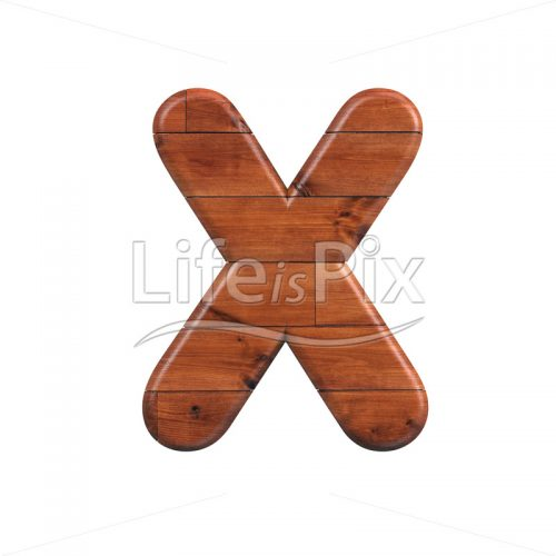 wood letter X – Capital 3d font – Royalty free stock photos, illustrations and 3d letters fonts