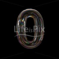 transparent digit 0 –  3d numeral – Royalty free stock photos, illustrations and 3d letters fonts