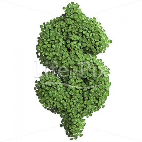spring Dollar currency symbol – 3d Business symbol – Royalty free stock photos, illustrations and 3d letters fonts
