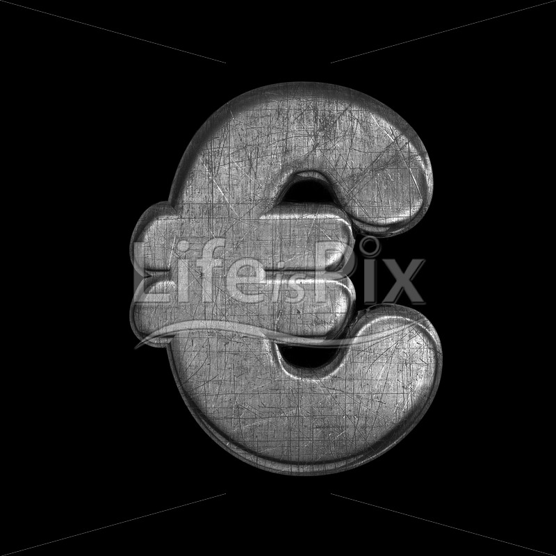 brushed iron euro currency symbol – 3d Currency symbol – Royalty free stock photos, illustrations and 3d letters fonts