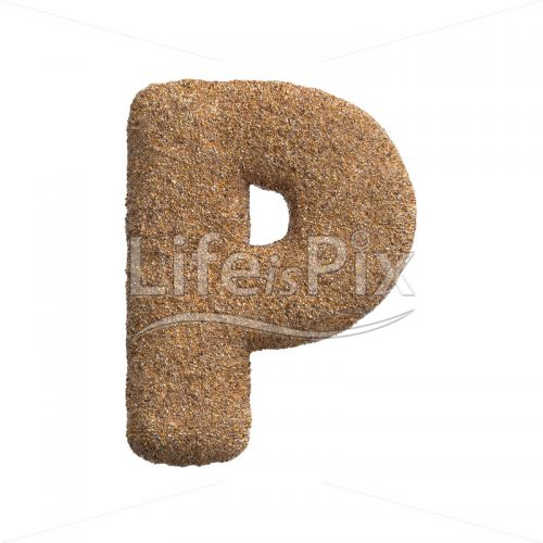 holiday letter P – Capital 3d letter – Royalty free stock photos, illustrations and 3d letters fonts