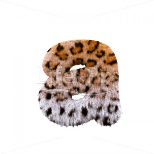 panther letter A – Small 3d character – Royalty free stock photos, illustrations and 3d letters fonts